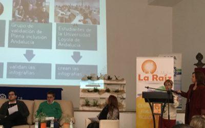 """Participación en las XVI Jornadas """"Por la Ciudadanía Plena"""" de la Asociación La Raíz"""