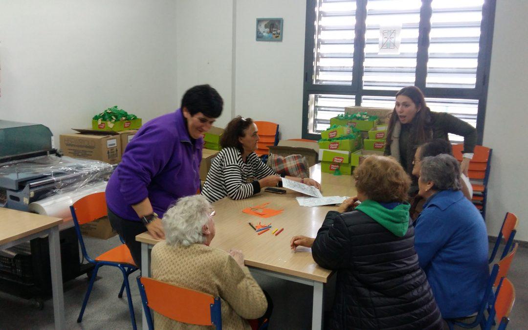 Visita Residencia de Mayores La Paz