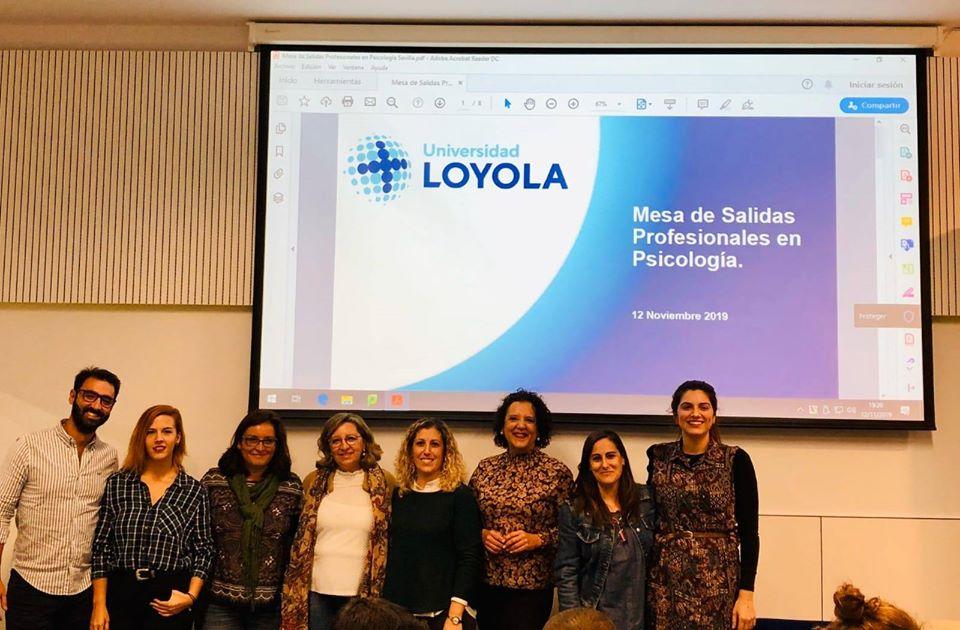 Mesas salidas profesionales Universidad Loyola Andalucía