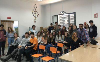 Visita estudiantes 1º Grado de Psicología de la Universidad Loyola