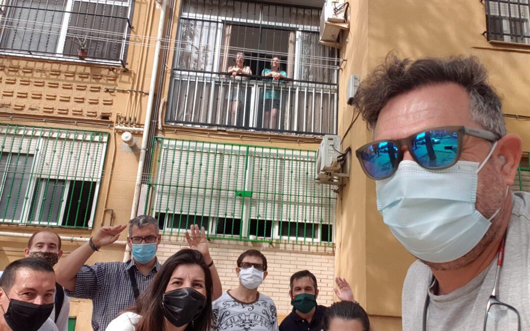 Visitas y apoyos presenciales en Centro de Día Ocupacional