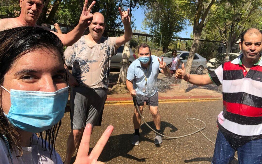 Fiesta del Agua en Residencia