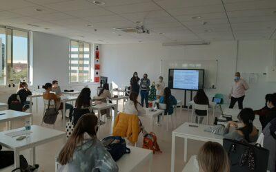 Visita a las alumnas de Ilerna Formación Sevilla