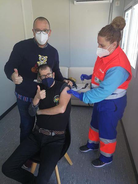 Comienzan las vacunas en Centro de Día Ocupacional
