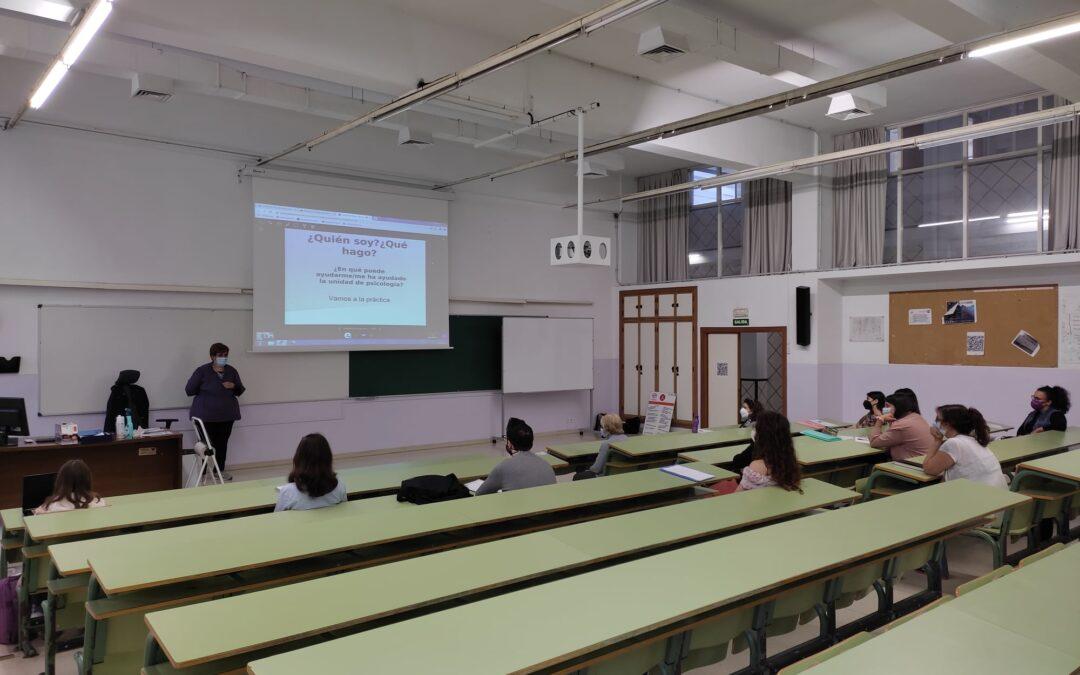 Visita a la Facultad de Psicología de la Universidad de Sevilla
