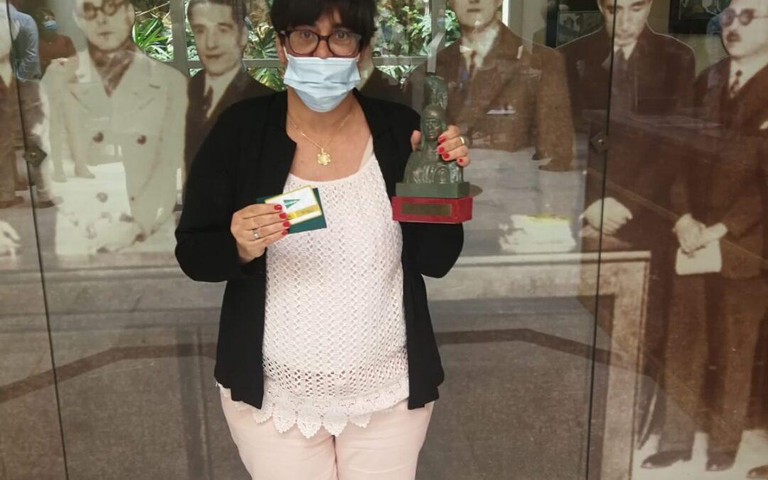 Primer premio de poesía para Rosa Olea