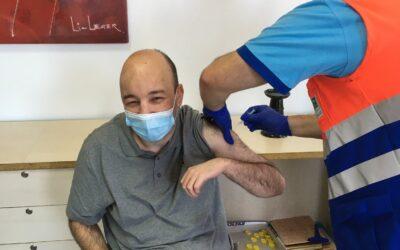 Vacunación Centro de Día Ocupacional