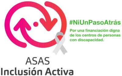 Campaña reivindicativa del sector de la discapacidad en Andalucía